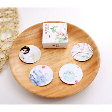 40X Classical Beautiful Flower Paper Sticker Baking Wrap Decor Gift Lable Seal