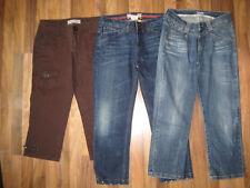 Jeans Hose Capri 3/4 7/8 Esprit Street One braun blau Gr. 38 40 W 29 28 3 Stück