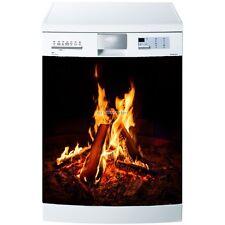 Magnet lave vaisselle Feu de bois 60x60cm réf 5514 5514