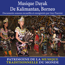 CD Musique dayak de Kalimantan, Borneo