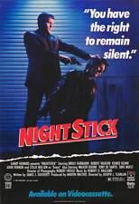 NIGHTSTICK Movie POSTER 27x40 Bruce Fairbairn Kerrie Keane John Vernon Robert