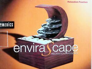 HoMedics Envirascape Fountain Mini Moon River Tabletop