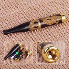 New Handmade Carving Dragon Filter Cigarette Holder Ebony Smoke Tool Accessory