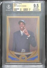 2004-05 Topps Gold Rookie #221 Dwight Howard No 60 of 99 BGS 9.5