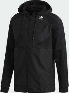 adidas Originals Project 3 Full Zip Hoody Sizes XS, S Black RRP £75 Brand New