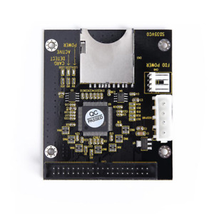"""SD 40 PinS Male Hard Disk Drive Adapter Card 3.5"""" IDE For Notebook Laptop"""