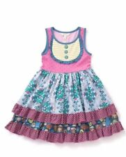 Matilda Jane Size 4 Put On A Show Cookie Dress Twirl Layered Make Believe NWT