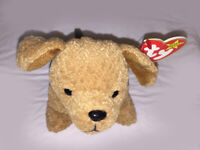 "Ty Beanie Baby ""Tuffy"" Puppy - Retired - DOB 10-12-96 MWMT"