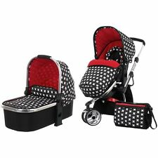 OBaby Chase Stroller carrycot  Pushchair Pram Crossfire Forward & Rear Facing