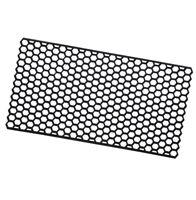Zerbino gomma rettangolare 40x70 cm ingresso antiscivolo esterno tappeto robusto