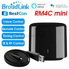 BroadLink RM4C Mini Wireless Vocale Controller Wifi IR RF Telecomando Smart Home
