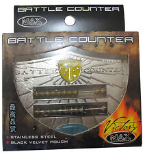 MAX PROTECTION VICTORY SERIES BATTLE ZÄHLER ABACUS EDELSTAHL MAGIC MARKER