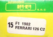 Hi-Fi  Kit - n.15 - 1/43 - 1982  Ferrari 126 C2  -  Imola Grand Prix - F1 - Rare