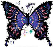 20 colorful butterfly Design Nail Art Manicure Tips Sticker Decal DIY Decoration