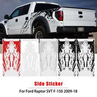 2x Sticker Decal Mud Splash Bed For GMC Sierra Mirror 2017 2018 2019 off road