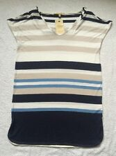 Hip Length Casual Striped Tops & Shirts NEXT for Women