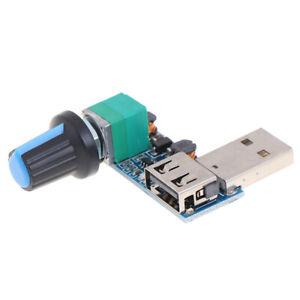 1Pc 5V to 12V USB Fan Speed Controller Switch Fan Speed Regulator Module^dm