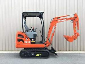 TRIDENT 1.8T Excavator with 3 buckets for sale