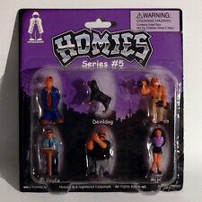 Homies Figuren / Figures - Series #5 Set 3 - 1:32 - 4,5 cm - Rarität - OVP - NEU