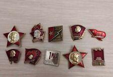 Original Badges comunism Lenin USSR badge Red October Russia political