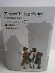 Dept 56 Dickens Village A Christmas Carol Christmas A Humbug, Uncle 4036526