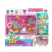 TWOZIES Season 2 Two-Clever BEACH PARTY Jet Ski Playset & 2 Exclusive Figures !