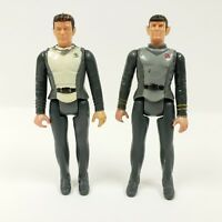 "Star Trek Spock & Captain Kirk Vintage 3.5"" Action Figures 1979 Mego PPC"
