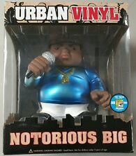 Notorious B.I.G. Funko Pop Urban Vinyl SDCC 240 LIMITED BIG FIGURE METALLIC BLUE