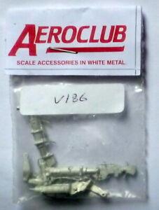 Aeroclub (V186) Hawker Hunter Metal Undercarriage Legs in 1:32 Scale