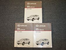 2006 Lexus RX330 Crossover Workshop Shop Service Repair Manual Book Set 3.3L V6