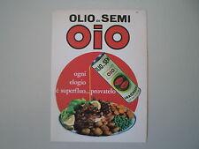 advertising Pubblicità 1965 OLIO DI SEMI OIO