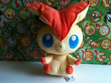 "Pokemon Plush Victini 12"" Best Wishes Black White UFO doll stuffed figure Toy"