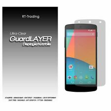 LG NEXUS 5 GOOGLE DISPLAY SCHUTZFOLIE KLAR FOLIE SCREEN PROTECTOR SCHUTZ FOLIE