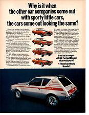 1971 AMC GREMLIN 258/150 HP  ~  CLASSIC ORIGINAL PRINT AD