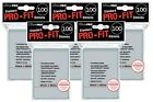 (500) ULTRA PRO Soft Card Sleeves *PRO-FIT* MTG Pokemon STANDARD Deck Size