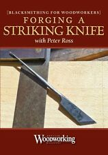 Forging a Striking Knife with Peter Ross / blacksmithing / woodworking