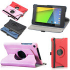 Tabsuit 360 Degree Rotating Leather Case Smart Cover for Nexus 7 FHD 2nd Gen