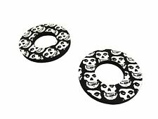 Black Skull Donuts Thumb Blister Protection Fits YZ 125 E,F 78-79