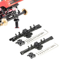 Metall Vordere Hinterachsgehäuse für Axial SCX24 90081 RC Crawler Cars Upgrade