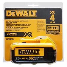 DeWalt DCB204 20V MAX XR 4.0Ah Lithium Ion Battery - ORIGINAL PACKAGING