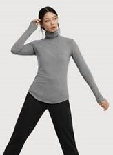 BNWT KIT AND ACE WILLOW GREY LONG SLEEVE POLO NECK  UK 10 TECHNICAL CASHMERE