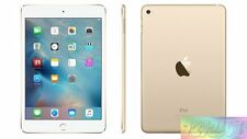 "Apple iPad Mini 4 Gold 16GB 7.9"" Wifi + Cellular 4G EXPRESS SHIP Tablet incl GST"