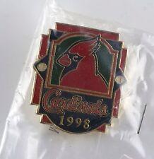 St. Louis Cardinals 1998 Hat Lapel Pin NIP