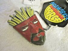 Adult Swim's Frylock Aqua Teen Hunger Force Belt Buckle Sarcastic French Fries