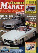 Markt 6/00 2000 Alpine A 106 108 Bond Bug DKW IFA MZ RT 125 Mercedes 300SL Guzzi