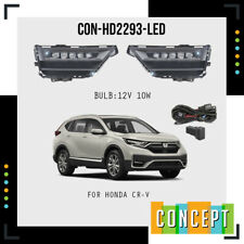 For 2020 2021 Honda CRV CR-V LED Fog Lights Lamps with Assembly Set L&R Side