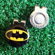 """""""BATMAN"""" Pallina da Golf Marcatore 25 mm & Clip Magnetica Tappo Gratis Regno Unito p & p"""