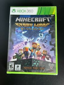 MINECRAFT Story Mode - The Complete Adventure (Microsoft XBox 360, 2016) ~ NEW!!