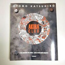 Japan Akira club Katsuhiro Otomo Illustrations Art book Used F/S Japan