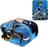 DC Comics Batman Rising Shield Shield Dark Knight Plush Twin Size Blanket